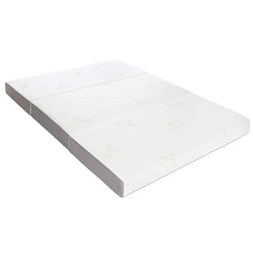 """Milliard Tri Folding Memory Foam Mattress   Ultra Soft Washable Cover   Full {73"""" x 52"""" x 6""""}"""