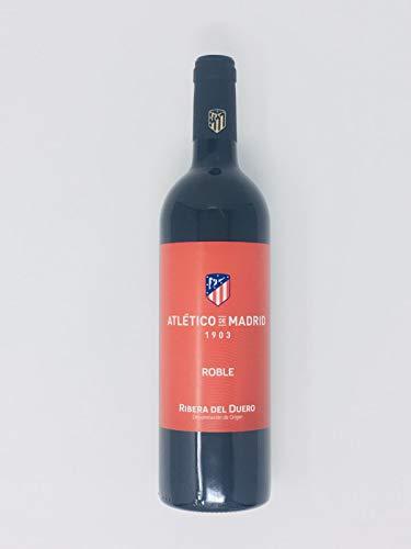2 Botellas de Vino Roble Atlético de Madrid. Botella 75cl.