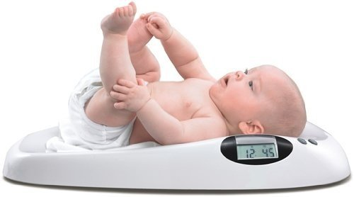 HOMEIMAGE Digital Scale for Infants and Pets  Weighs up to 44 Lbs HI01
