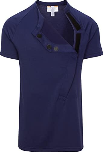 Product Image of the DadWare Bondaroo Skin to Skin Kangaroo Care Bonding T-Shirt (Large, Navy)