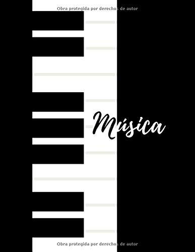 Música: Cuaderno pautado, Hojas con pentagramas, manuscrito, escritura, composición musical.