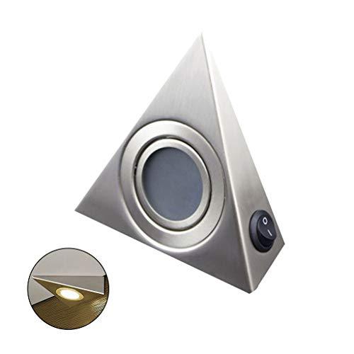 Moreoustitory LED Dreieckleuchte, Unterbauleuchte Küche Küchenleuchte, Led Induktionslicht, Energieklasse A