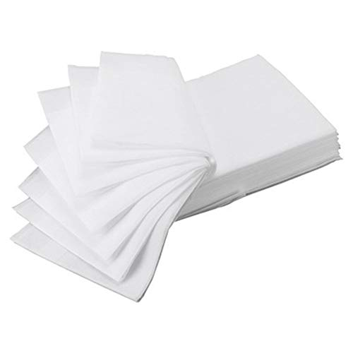 KKCD 60Pcs Portable Disposable Bed Sheet,Spa Bed Sheets Disposable Massage Table Sheet,Waterproof Pads Mats Covers for Beauty Salon,Adults Care,Health Center,White,70 * 170cm
