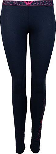 Emporio Armani Underwear Damen Leggings, BLU Marine - Marine Blue, XS