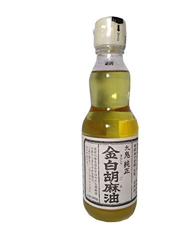 九鬼産業 金白純正胡麻油 340g
