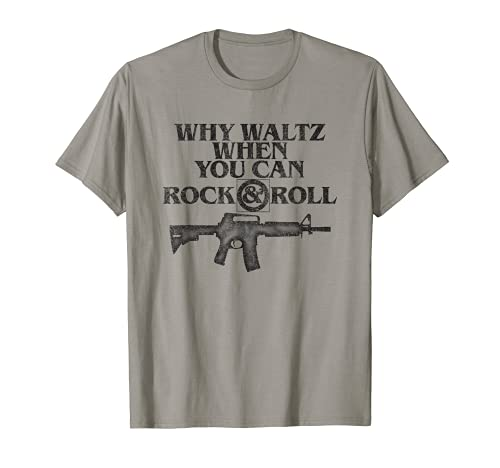 Why Waltz When You Can Rock And Roll T Shirt 80s Movie Tee