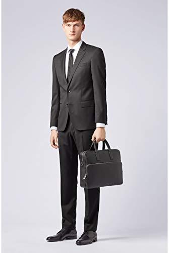 BOSS - Crosstown_s Doc Case, Bolsas para portátil Hombre, Negro (Black), 8.5x30x38 cm (B x H T) 3