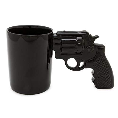 Revolver Kaffeebecher - Pistole Tasse Becher Waffe Trinkbecher