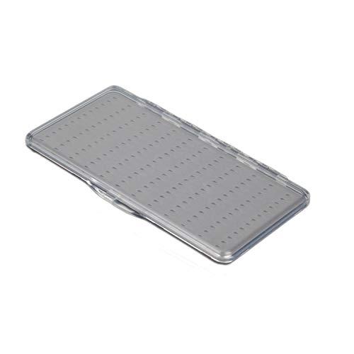 Aventik Super Slim Transparent Fly Fishing Fly Box Foam Design Magnetic Pad Compartments 6C 12C 18C(H34B)