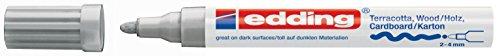 edding Mattlack-Marker edding 4000 creative, 2-4 mm, silber