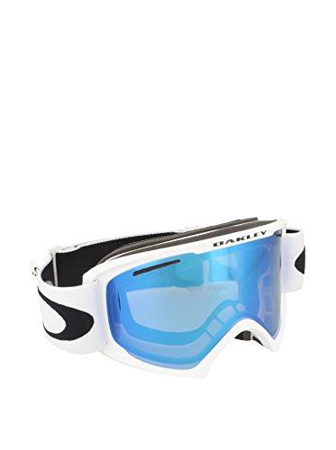 Oakley Herren Skibrille O2 XL Sportbrille, Weiß (Matte White/Violetiridium), 99