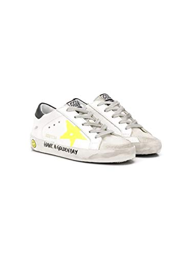 Golden Goose Luxury Fashion Ragazzo G36KS001B42 Bianco Pelle Sneakers | Primavera-Estate 20