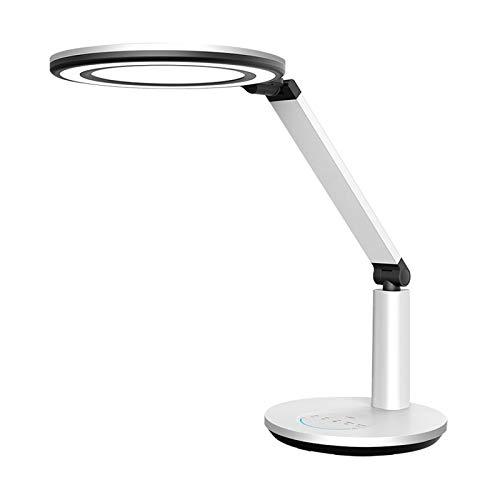 Lámpara Escritorio LED Lámpara de escritorio LED Full Spectrum Lámpara de mesa inteligente con vigilancia continua, función de memoria, lámpara de lectura de control táctil para oficina en casa Lámpar