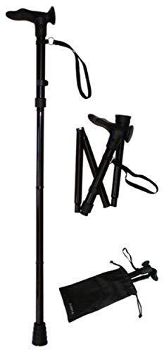 Forta QA-00318/10 - Muletilla plegable empuñadura anatomica derecha 🔥