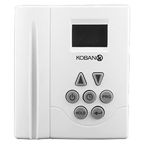 Koban 0769010 Cronotermostato Calefacción - Kt10-Lcd-P