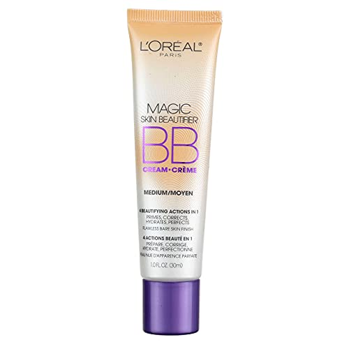 Photo of L'Oreal Paris Magic Skin Beautifier BB Cream, Medium [814] 1 oz (Pack of 2)