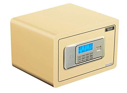 QCYP La contraseña Digital para desbloquear la Caja Fuerte antirrobo se Puede Utilizar como Caja de Seguridad para el automóvil para almacenar Objetos de Valor como Tarjetas bancarias y Tarjetas