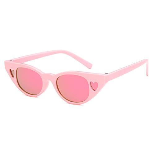 Mxssi Baby Herz Sonnenbrille Mode Katzenaugen Sonnenbrille Für Jungen Mädchen Kinder Brillen UV400 Geschenke