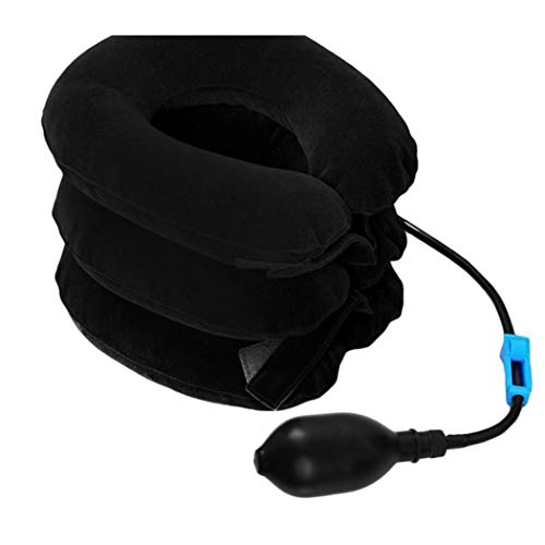 Gonikm Portable Air Inflatable Pillow Cervical Traction Neck Traction Device Neck Care Shoulder Bags