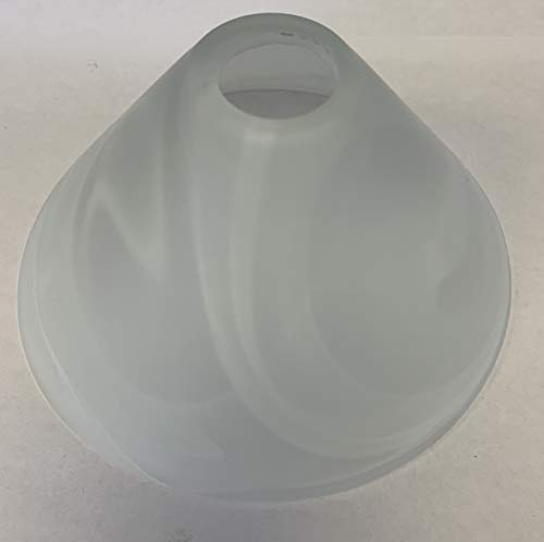 KHL Lampenschirm Lampenglas G9 Pendellampe 135mm alabasterfarbig weiß KH93215