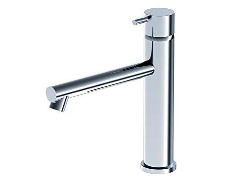 Rubinetto lavabo Ritmonio Diametro 35 Inox miscelatore monocomando lavabo E0BA0124D