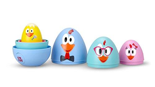 Ouaps - La Famille Cot Cot - Chasse aux œufs avec Effets Sonores - Jouet Maternelle