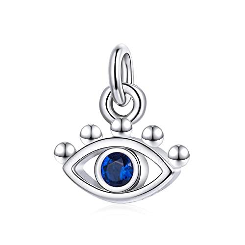 NewL Adorno para colgar en la pared de 925 con diseño de ojo turco, amuleto de cuentas, protección del hogar y buena