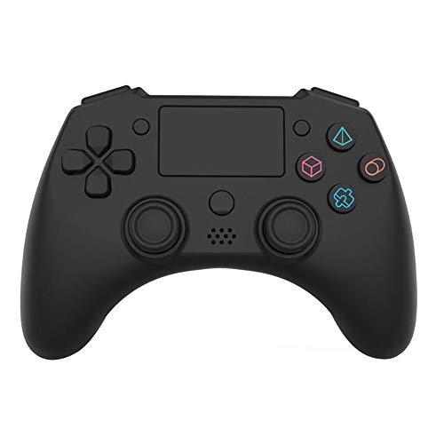 ZUEN Bluetooth Controlador inalámbrico Neutra Controlador de PS4 inalámbrica con Pantalla táctil micrófono Altavoz Seis Ejes y Otras Funciones