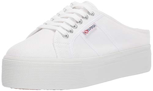 Superga Women's 2284 COTW Sneaker, White, 39 M EU (8 US)