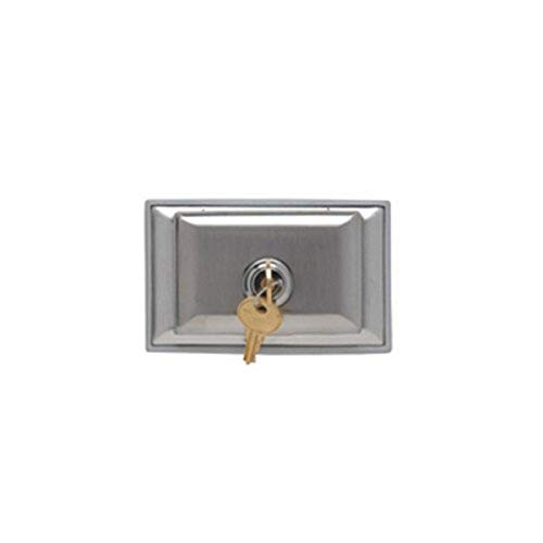 Legrand - Pass & Seymour WPH8L Pass & Seymour Wph8-L Wp Ss Locking Receptacle Platewith Cover