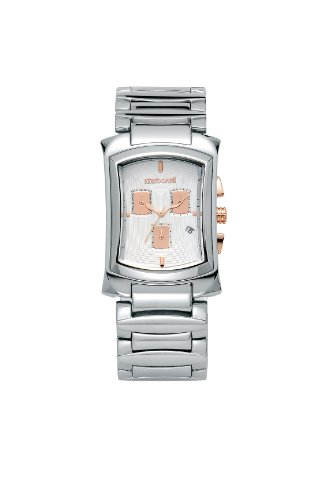Roberto Cavalli Men's R7253900015 RC TOMAHAWK Silver Stainless Steel Watch