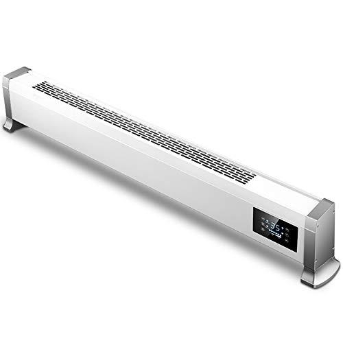 Calentador de zócalo Inicio de la placa base del calentador inteligente de control de temperatura de ahorro de energía por convección Calentador eléctrico de calefacción Calentadores convectores