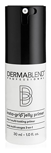 Dermablend Insta-Grip Jelly Primer Face Makeup, Silicone-Free Face Primer for Dry Skin, Pore Minimizing with 24HR Wear, 1.0 Fl oz