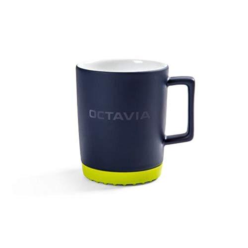 Skoda 5E3069601 Octavia Porzellanbecher Silikonuntersetzer Kaffeetasse Accessoires