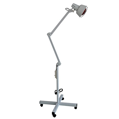 Learn More About ShengYU Infrared LAMP with Articulated ARM and Wheels Aesthetics 275W