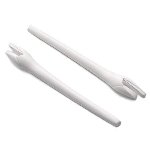 SOODASE Blanco Kit de goma de silicona Juego de patas de repuesto para Oakley Radar EV Path Gafas de sol