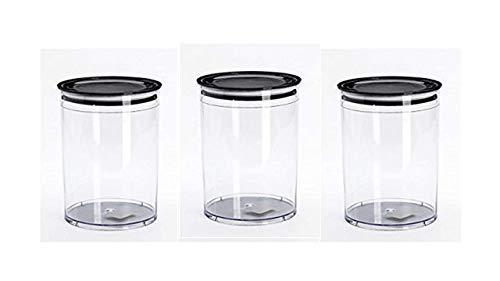 3L Große Vorratsdosen Set, Müsli Schüttdose & Frischhaltedosen, BPA frei Kunststoff Vorratsdosen luftdicht,