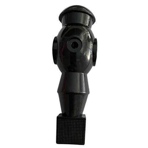 SM SunniMix Tischfußball Figuren mit Lochdurchmesser 16mm - Schwarz