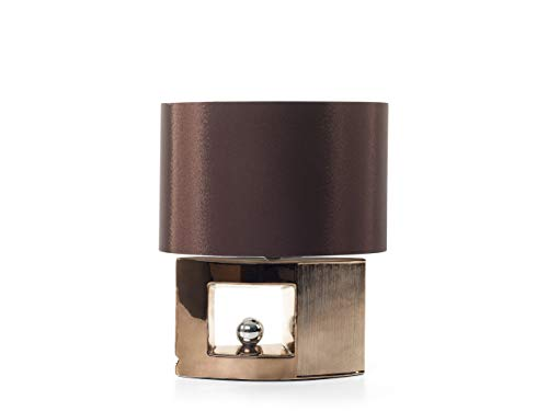 Beliani Trendy Tischlampe dekorativer Lampenfuß Porzellan braun Duero