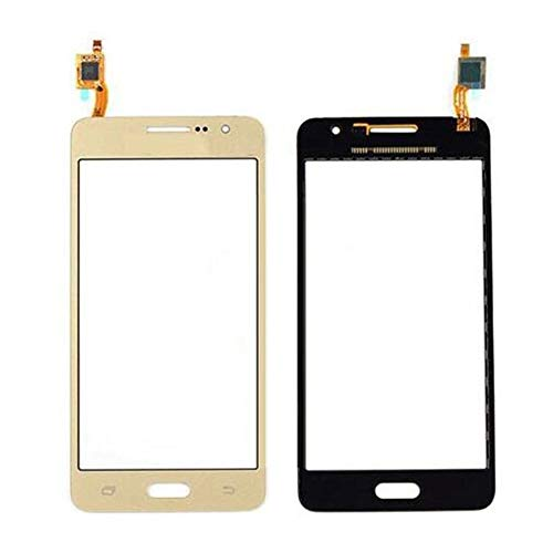 Touch Screen Digitizer - Front Glass Lens Sensor Panel for Samsung Galaxy Grand Prime G531 SM-G531H G531H G531F G531Y Repair Phone Parts (Gold)