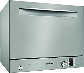 Bosch Electrodomésticos Lavavajillas, SKS62E38EU Compata, Clase A+, Silver