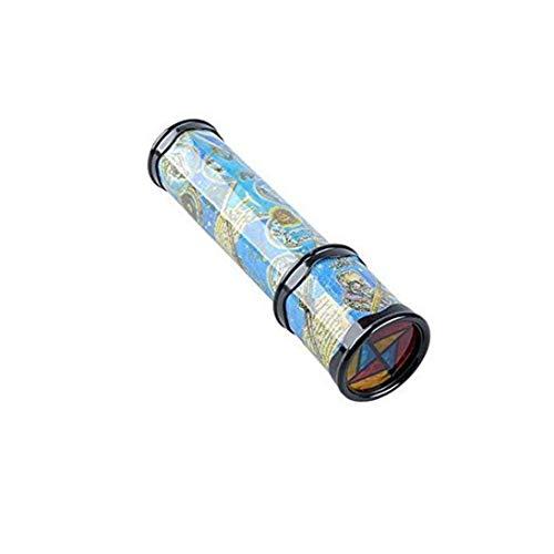 ZYCX123 Rotierende Kaleidoskop Spielzeug 3D Kaleidoskop Prism Teleskop Puzzle Spielzeug Früherziehung Spielzeug Zufalls-Art-Geschenk für Kinder