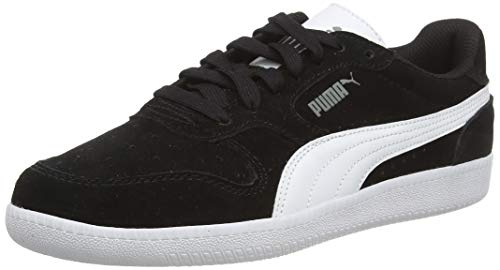 PUMA Icra Trainer SD Jr Sneaker, Schwarz (Black-White), 38 EU