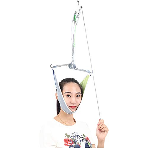 QIYU Cervical Traction Einheit, Over-Door Cervical Traction, Hals Massagegerät,Entspannung, Entlasten Zervikale Schmerzen