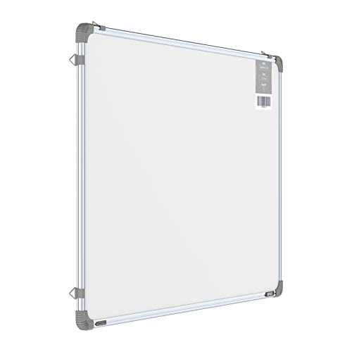 Pragati Systems® Genius Melamine (Non-Magnetic) Whiteboard for Office, Home and School (GWB6090), Lightweight Aluminium Frame, 2x3 Feet (Pack of 1)