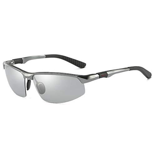 FANCYKIKI Radfahren Brille Fahrrad Farbwechsel Brille Erwachsene Outdoor-Brille Geeignet for Outdoor-Radfahren Liebhaber Cricket Fledermäuse Brille (Farbe : A2)
