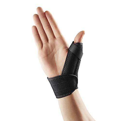 LP Support 563-KM Daumenbandage - Daumenschutz - Daumenschiene - Daumengelenks-Bandage, Größe:Universalgröße, Farbe:1 x schwarz