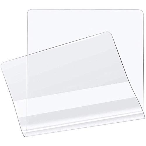 LMZJLU Alfombrilla Antideslizante para Silla de Oficina o casa, Antideslizante, PVC, Transparente, Rectangular, Protector de Suelo para moqueta, salón 0.8mm
