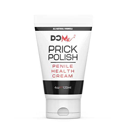 Penile Health Cream - Prick Polish - All Natural Creme to Heal, Condition and Fortify Penile Skin - 4oz