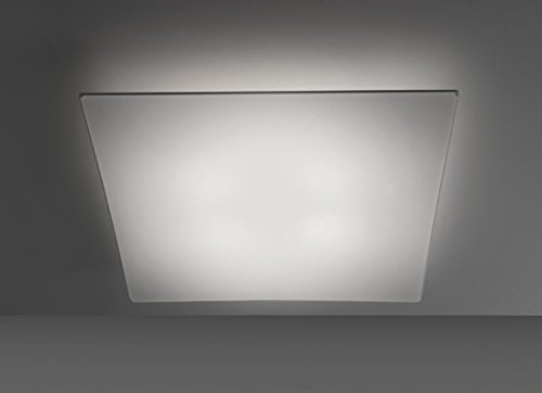 ANPERBAR - Lámpara De Techo Plafón Tela Elástica Line 80x80 Color Blanco